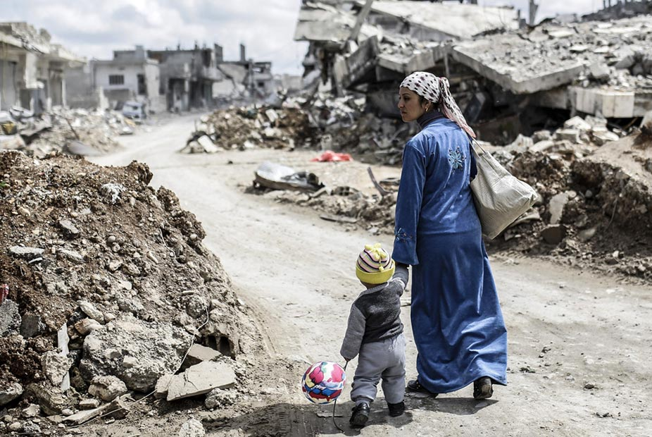 Conflict prevention and resolution in Syria